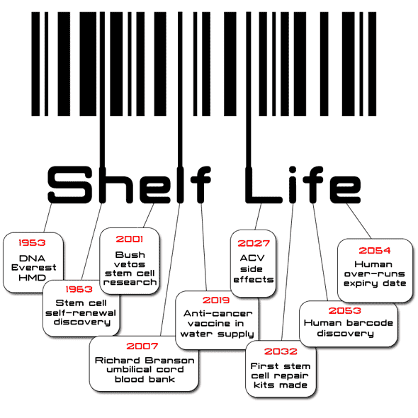 Shelf life by Helen Ducal