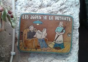 retirement-France-woman's work, no joke,