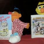 Bert & Ernie bedtime reading