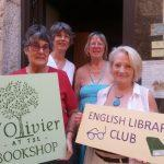 English library club in Tourrettes-sur-Loup