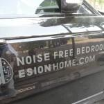 Noise free bedroom